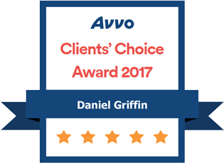 Avvo Clients' Choice 2017 Attorney Daniel Griffin