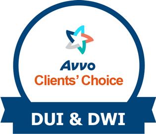 Avvo Clients' Choice DUI & DWI