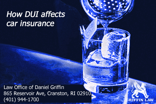How DUI affects car insurance