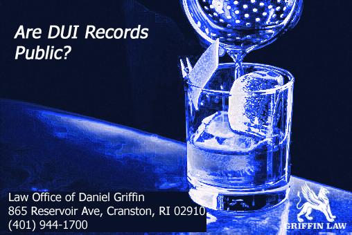 Are DUI Records Public?