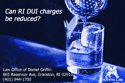 Can RI DUI charges be reduced?